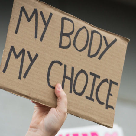 My Body my Choice Proteste in den USA
