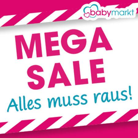 Babymarkt Mega Sale Banner