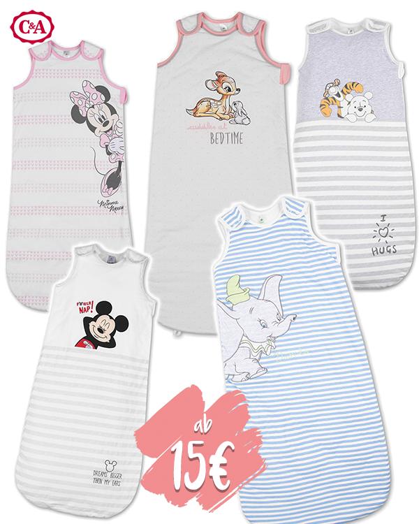 Disney Babyschlafsäcke im C&A Onlineshop