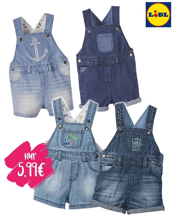 Kinder Jeans Latzhosen von LIDL