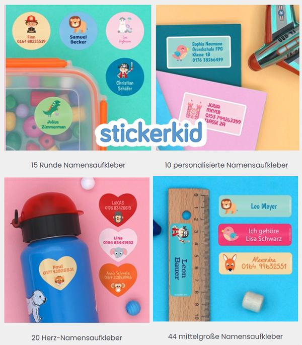 Stickerpakete von Stickerkit