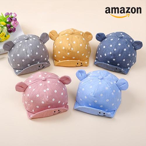 Caps mit Ohren in unterschiedlichen Farben
