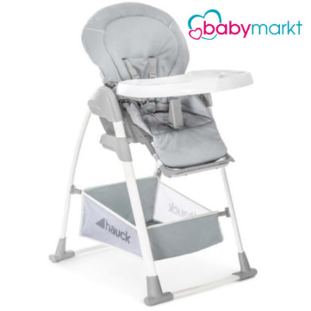 Grauer Hochstuhl für Kinder von Babymarkt