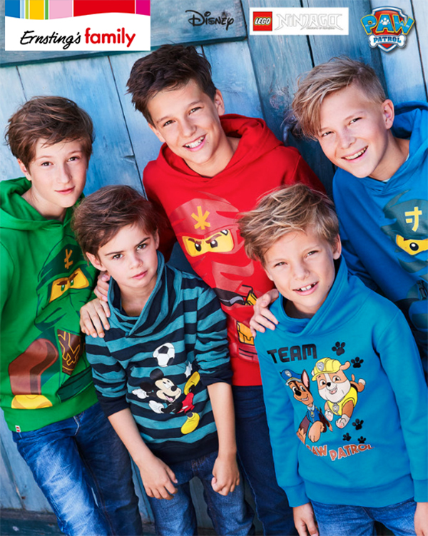 Jungs in Paw Patrol Pullovern