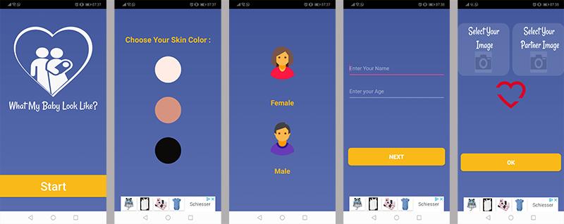 Future Baby App
