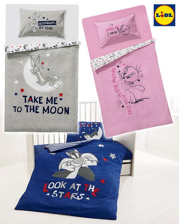 LIDL Bettwäsche mit Looney Tunes Prints