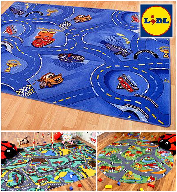LIDL straßenteppich in verschiedenen Designs