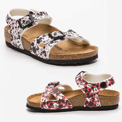 Minnie und Mickey Birkenstock Sandalen für Kinder