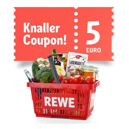 5€ Coupon von REWE
