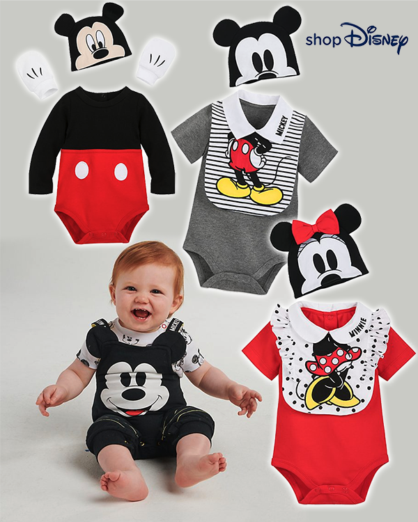 Minnie und Micky Outfits