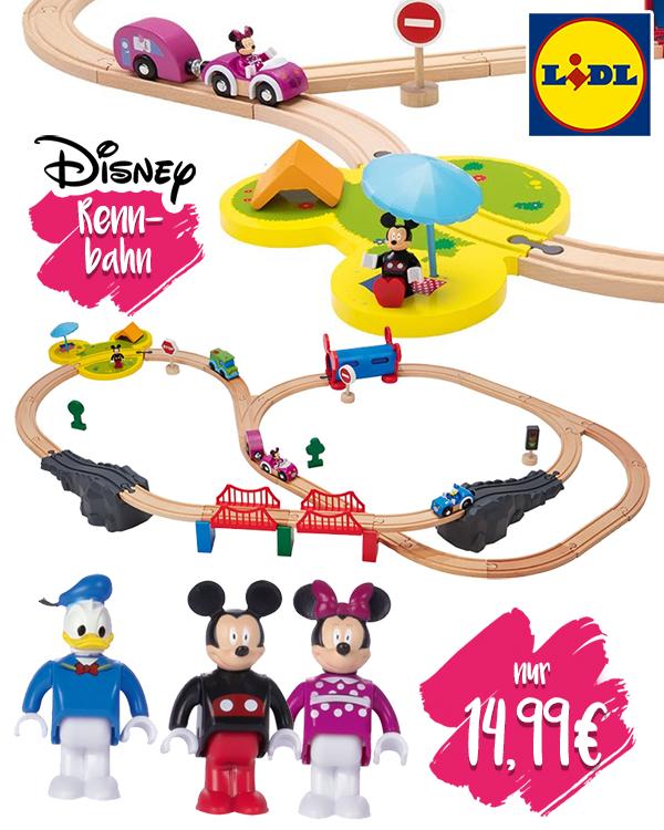 Disney Rennbahn Zusammenstellung