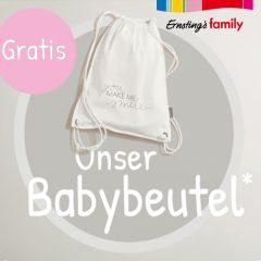 Gratis Beutel von Ernsting's Family