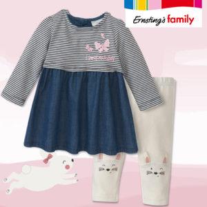 Ernsting's Family: Hasenstarke Mädchenmode ab 3,99€