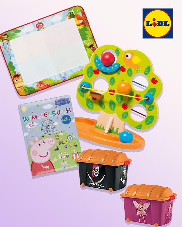 Spielzeug Zusammenstellung