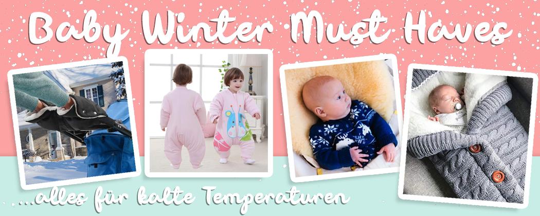 Banner: Baby Winter Must Haves – was brauche ich?