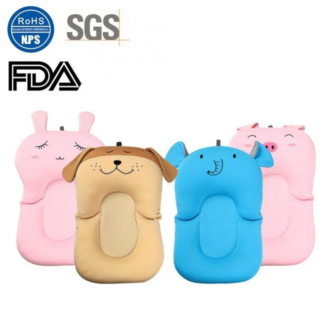 Badekissen fürs Baby in verschiedenen Tierdesigns