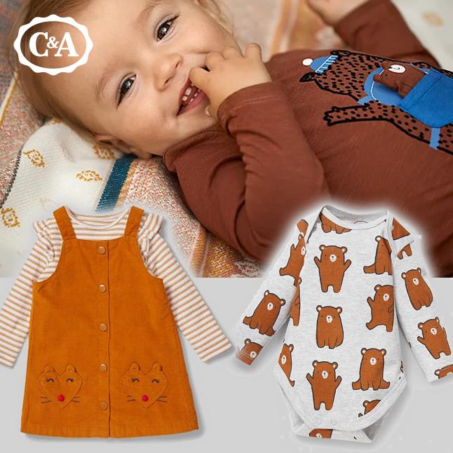 C&A Herbstmode für Babys und Kleindkinder