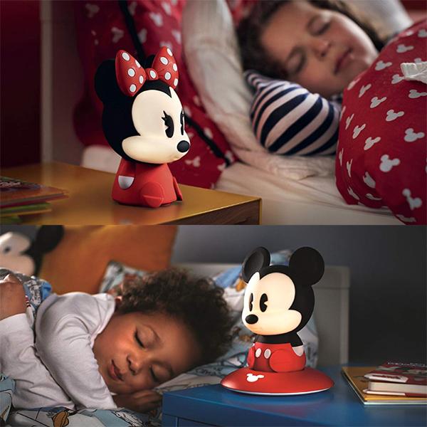 Minnie und Mickey Mouse Nachtlicht