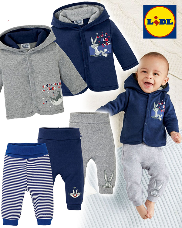 Baby in Looney Tunes Mode von LIDL