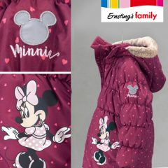Minnie Mouse Jacke von Ernsting's Family in lila