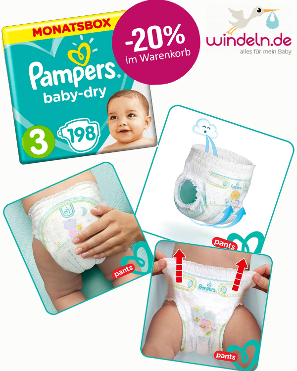 Pampers Angebot