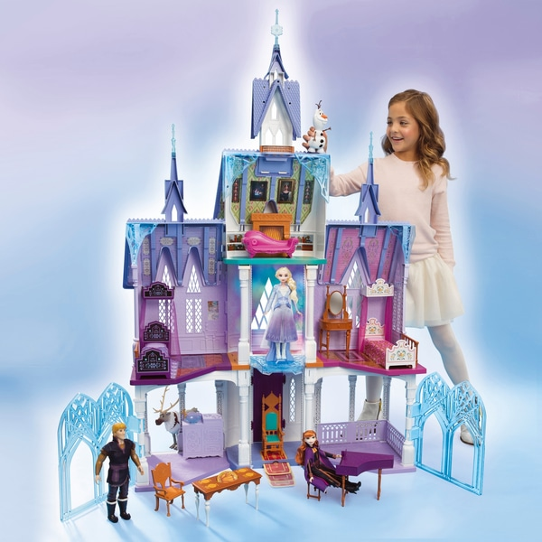 riesiges Anna und Elsa Schloss
