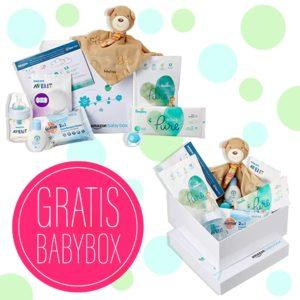 GRATIS Amazon Baby-Box für Prime-Kunden – mit Fehn Schnuffeltuch, Philips Avent Flasche uvm.