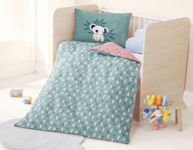 Babybettwäsche mit Koala Design von LIDL