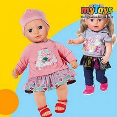 Baby Born und Baby Anabell