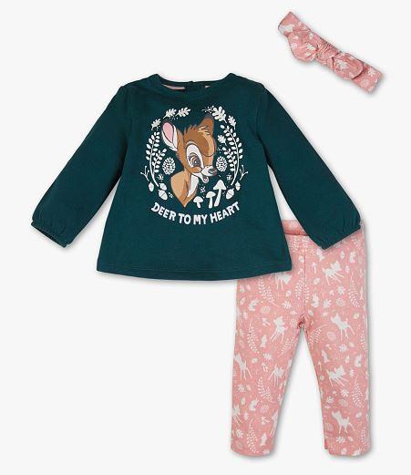 C&A Bambi Bekleidungsset für Kinder - Disneymode