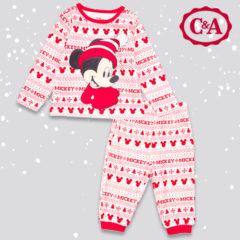 Mickey Maus Bekleidungsset in Weihnachtsdesign