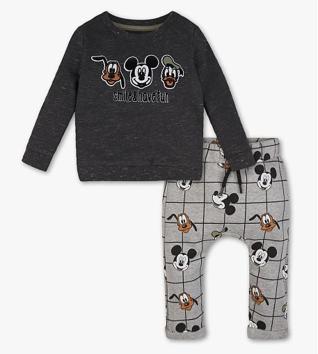 Mickey Maus Bekleidungsset für Kleinkinder - Disneymode