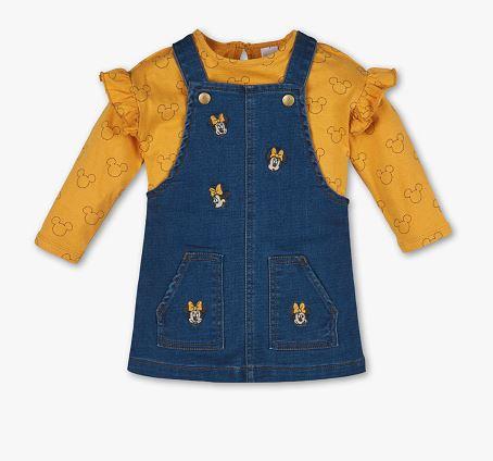 C&A Minnie Maus Kleid aus Jeansstoff