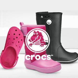 Crocs Schuhe in pink und Schwarz