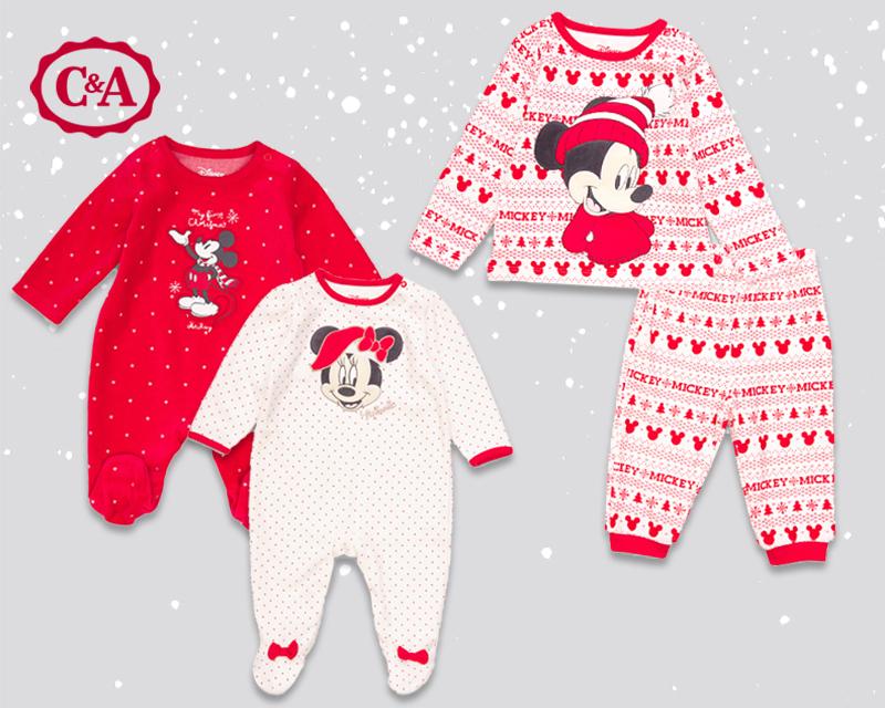 Minnie & Mickey Maus C&A Weihnachtsmode