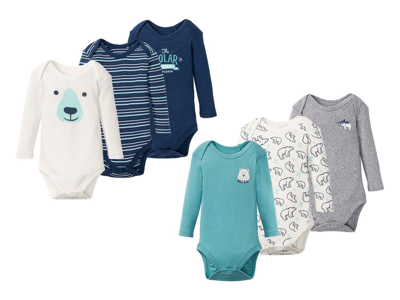 Baby-Bodies mit Eisbär-Design