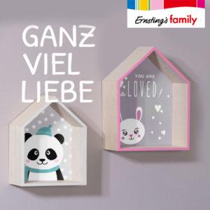 Ernsting's Family: Neue Kinderzimmerdeko ab 3,99€