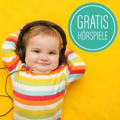 Kleines Kind mit Kopfhörern
