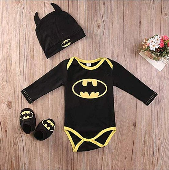 Batman Body Set für Babies