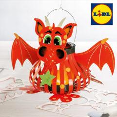 Drachen Laterne für Kinder