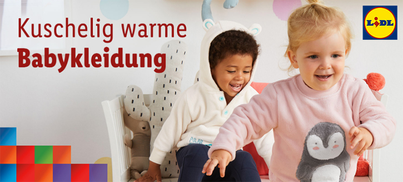 LIDL Kinder spielen in Thermomode