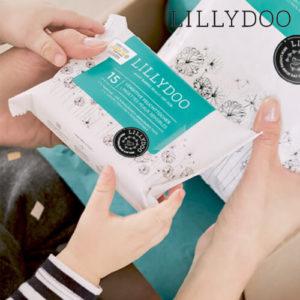 Lillydoo: 10 Windeln und 15 Feuchttücher gratis testen