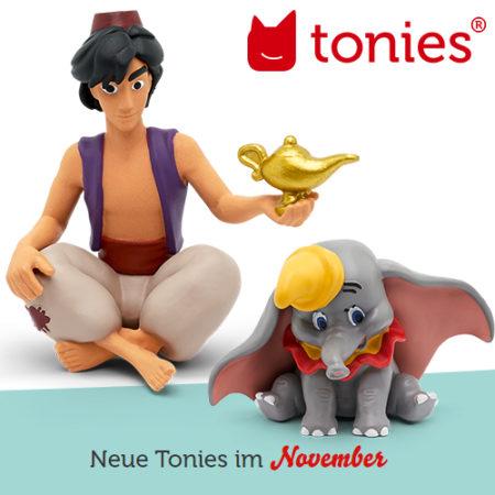 Tonie Figuren im November