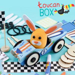 toucanBox mit 2 Bastelprojekten für nur 4,47€ + Gratis Stickerbogen