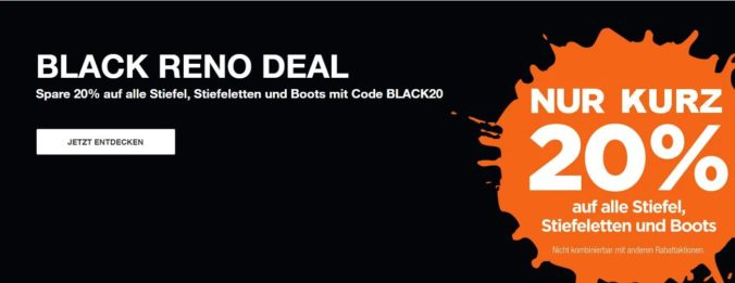 Black reno deal