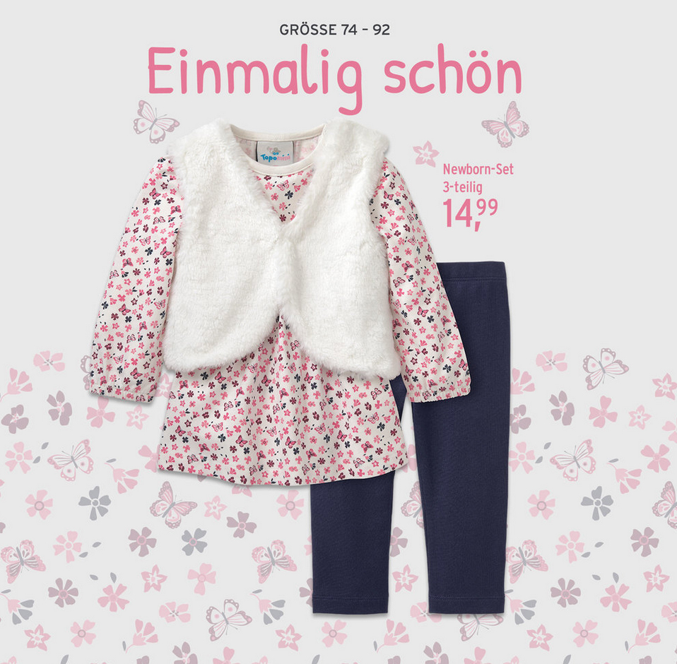 3-teiliges Outfit