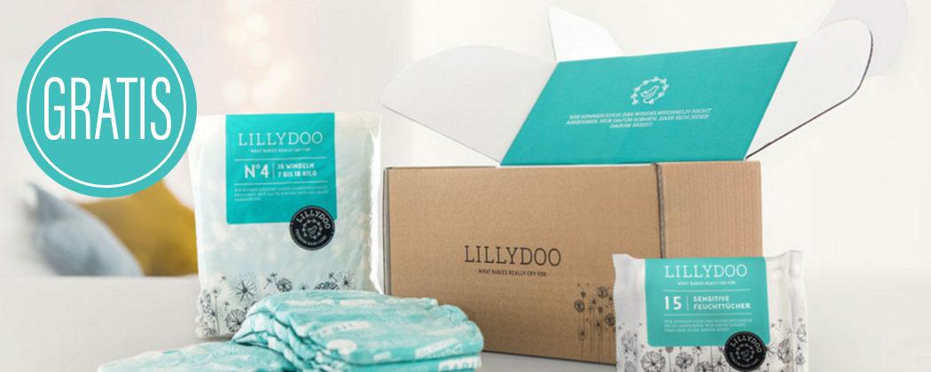 Lillydoo Winden und Feuchttücher Gratis