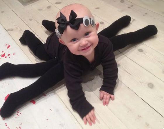 Spinnen Baby Halloween Kostüm