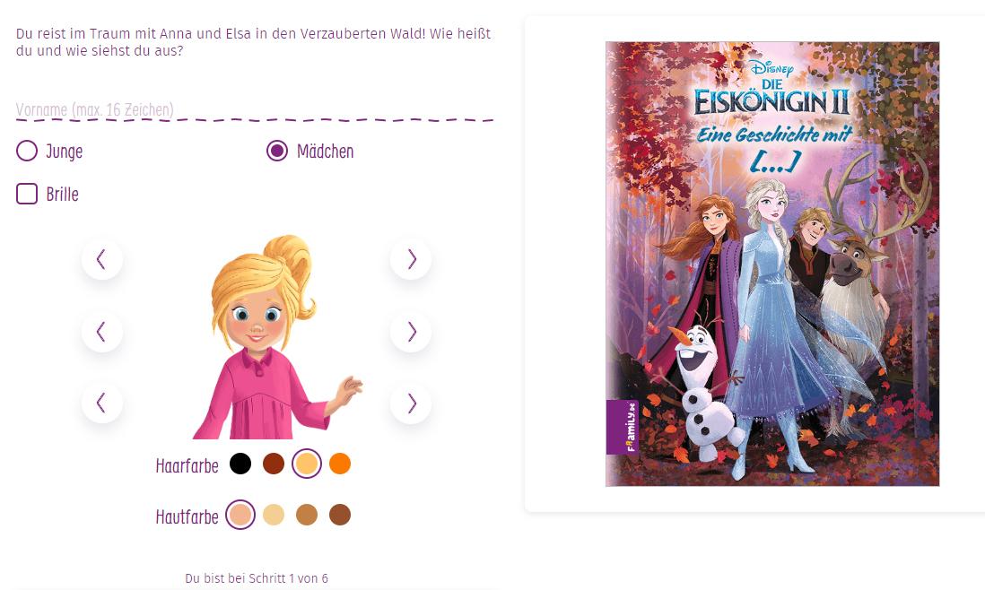 Anna und Elsa Anleitung