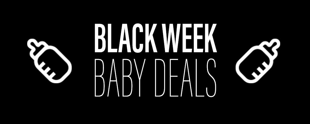 Banner: Baby Deals zur Black Week